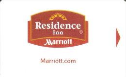 TARJETA DE HOTEL MARRIOTT (KEY CARD-LLAVE) RESIDENCE INN - Cartas De Hotels