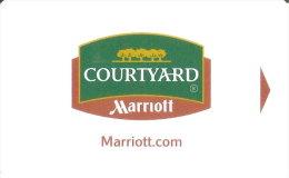 TARJETA DE HOTEL MARRIOTT (KEY CARD-LLAVE) COURTYARD - Cartas De Hotels