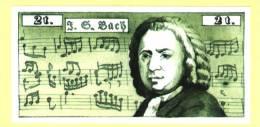 Billet J.S. BACH (N° 432 - 2 ) - Musique & Instruments