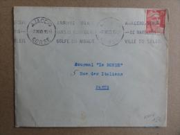 Ajaccio - 1950 - Krag - Berceau De Napoléon - Marcophilie (Lettres)