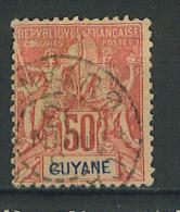 VEND TIMBRE DE GUYANE FRANCAISE N° 40 !!!! - Französisch-Guayana (1886-1949)