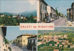 AREZZO - Saluti Da Rigutino - 4 Vedute - Arezzo
