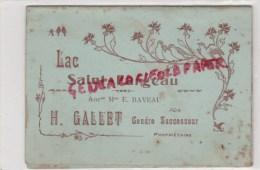 89 - LAC SAINT FARGEAU - MENU - H. GALLET GENDRE - MAISON E. RAVEAU - Menus