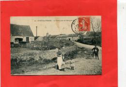 CUSSY LES FORGES / ARDT AVALLON   1910   LA SCIERIE PRES DE L ETANG DE BAS   CIRC OUI EDIT - Other Municipalities