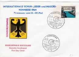 Germany Special Cachet: 1964 Pirmasens 7. Internationale Schuh, Leder Und Maschinenmesse  (G42-84) - [7] Federal Republic