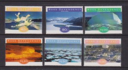 Ross Dependency 1998 Antarctic Ice Formation Set 6 MNH - Unclassified