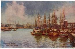 Carte Postale Ancienne De BUENOS AIRES - VISTA DE LA BOCA - Argentine