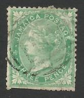 Jamaica, 3 P, 1870, Scott # 9, Used. - Jamaïque (...-1961)