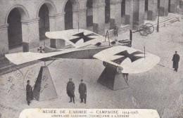 C P A---AVIATION---MUSSEE DE L'ARMEE---campagne 1914-1915--aéroplane Allemand--voir 2 Scans - Other