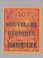Nouvelles-Hébride N° 18** - Leyenda Francesa