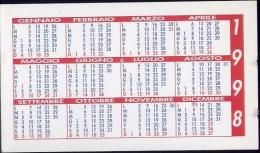 Calendarietto - Studio Di Consulenza Fiscale E Del Lavoro - Campobasso - 1998 - Tamaño Pequeño : 1991-00