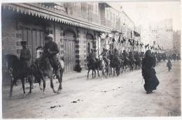 JERUSALEM Israel 1917 Militaria World War I Turkish Cavalry Ride By Road Turkey Before November TOP-Erhaltung Ungelaufen - Israel