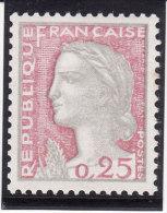 France 1960 - N° 1263 - Variété : Couleurs Très Pâles - Neuf** Trace De Pli (2 Scans) - Errors & Oddities