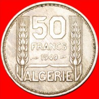 ★FRENCH OCCUPATION: ALGERIA 50 FRANCS 1949! LOW START ★ NO RESERVE! - Algerije