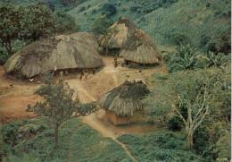 AFRICAN  RURAL  SCENE          (VIAGGIATA) - Kenia