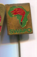 SWAPO - Party of Namibia Africa, vintage pin  badge