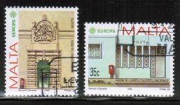 CEPT 1990 MT MI 831-32 USED MALTA - Europa-CEPT