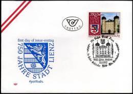 Oostenrijk - FDC - 750 Jahre Stadt Lienz                               B2018 - FDC