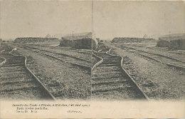 Incendie Des Tanks à Pétrole à Hoboken (26 Aout 1904) - Rails Tordus Par Le Feu - Antwerpen