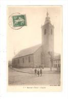 CPA : 59 - BAVAY  L ' Eglise : Enfants - église - Bavay