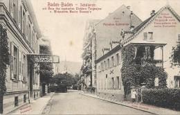 G 437 BADEN BADEN SCHILLERSTR. - Baden-Baden