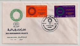Algérie, 1975, Jeux De La Méditérranée, FDC, Alger, 25-1-75 - Games