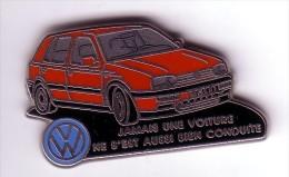 VW  GOLF Rouge    DECAT - Volkswagen