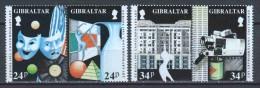 Gibraltar 1993 Mi 654-657 MNH - Gibraltar