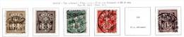 Svizzera--MF-0023 - 1905 - Valori Della Serie Y&T: N. 100/105 (o) - Privi Di Difetti Occulti. - Gebraucht