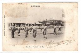 TONKIN - Tirailleurs Tonkinois à La Boxe - Ed. Collection R. Moreau Et Cie, Hanoï - Vietnam
