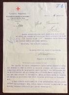 CRI - COMITATO NAZIONALE PER LA RACCOLTA  ARCHIVI A FAVORE DELLA CRI - 1920 - Croce Rossa
