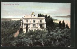 CPA Korfu, Vue De Achilleion - Grèce