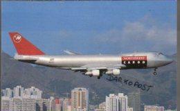 Boeing B 747-251 F Aircraft NORTHWEST AIRLINES CARGO N639US Airines B747 Aereo Avion B.747 Aviation B-747 HONG KONG