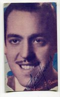 "AUTOGRAFO DÉDICACÉ AUTOGRAPHED ""MARIO A. CESARI"" PIANISTA-PIANIST 1946 ORIGINAL SIGNATURE  EXCLUSIVE NON CIRCULEE GECKO - Autographs"