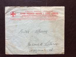 CRI -  UFFICIO PRIGIONIERI RICERCHE E SERVIZI CONNESSI INFORMAZIONI PRIVATE - VIAGGIATA 1940 - CENSURA MILITARE - Croce Rossa