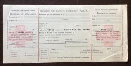 CRI - POSTE SERVIZIO DEI CONTI CORRENTI  - MODULO PREDISPOSTO CON CROCI ROSSE - Croce Rossa