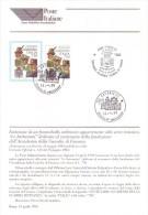 Italia 1996 - Guardia Di Finanza, Bollettino Con Francobollo E Annullo FDC - 6. 1946-.. República