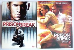 2 COFFRETS DVD PRISON BREAK SAISON 1 ET 2  12 DVD   - COFFRET