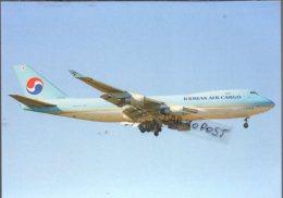 Boeing B 747-4B5F  HLHL7449 Aircraft KOREAN AIR CARGO AIRLINES Airines B747 Aereo Avion B.747 Aviation B-747 - 1946-....: Era Moderna