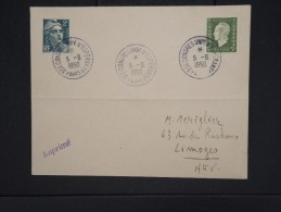 "ESPERANTO.- Enveloppe Avec Oblitération ""  35éme Congrés Univ.d´Esperanto Paris 1950 ""   P6326 - Esperanto"