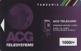 *TANZANIA* - Scheda Usata - Tanzania