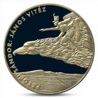 HUNGARY 200 FORINT CHILDREN'S LITERATURE JANOS VITEZ BUNC 2001 - Hongrie