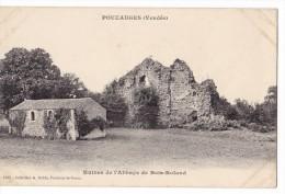 POUZAUGES. - Ruines De L'Abbaye De Bois Roland - Pouzauges