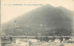 LOUVIE JUZON . USINES PONSA ET MONTAGNES D'IZESTE . - France