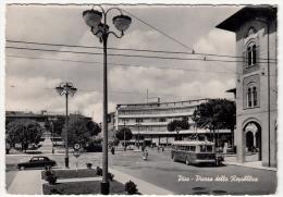 PISA - PIAZZA DELLA REPUBBLICA - 1958 - Pisa
