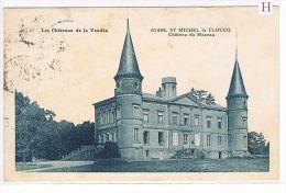 CPA (85) St Michel Le Clouq -Château Du Mazeau - (058) - Sonstige Gemeinden