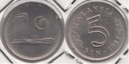 Malesia 5 Sen 1982 Km#2 - Used - Malesia