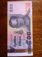 Thailand 500 Baht 2001 Pick107 Sign84 UNC - Thailand