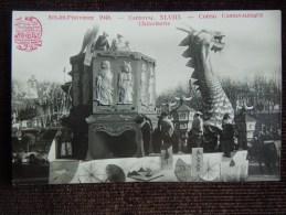 "Aix-en-Provence , Carnaval XLVIII ,  Corso Carnavalesque , 1948 , Char "" Chinoiserie  "" - Aix En Provence"
