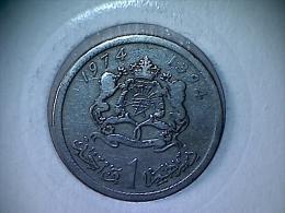 Maroc 1 Dirham 1394/1974 - Maroc